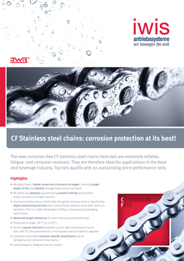 CF Stainless Steel Chains
