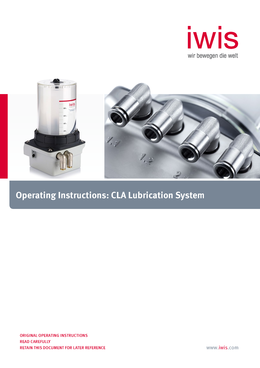 CLA - Operating Instructions