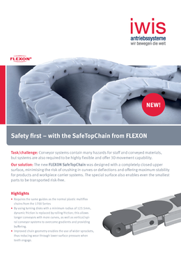 FLEXON Safe Top Chain multiflex chains