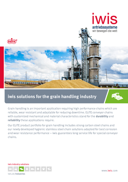 Solutions for grain handling