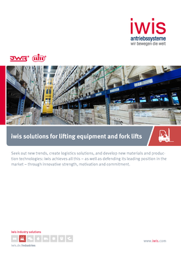 iwis Solutions for Lifting Equipment and Fork Lifts