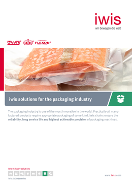 iwis Solutions for the Packaging Industry