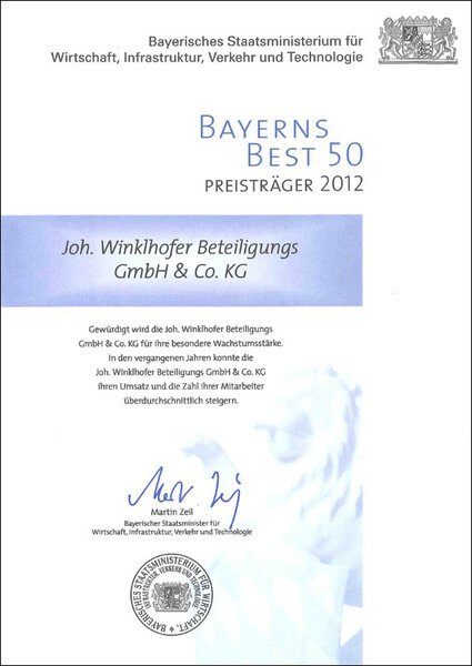 Bavaria Best 50 2012 iwis