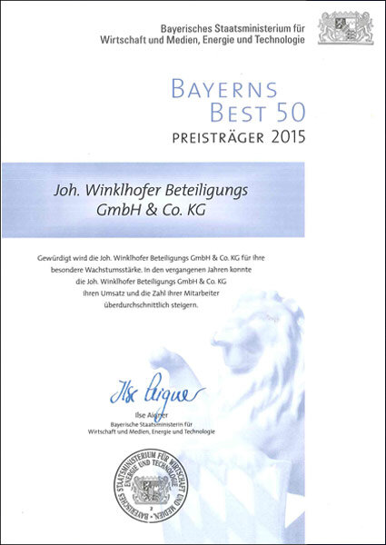 Bavaria Best 50 2015 iwis