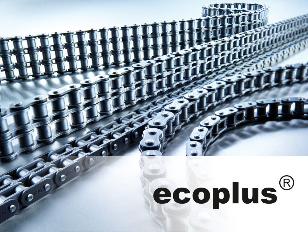 iwis Ecoplus chains industrial applications