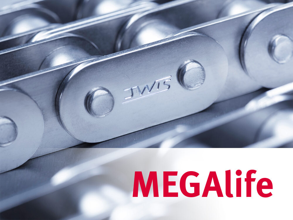 iwis MEGAlife maintenance-free roller chain