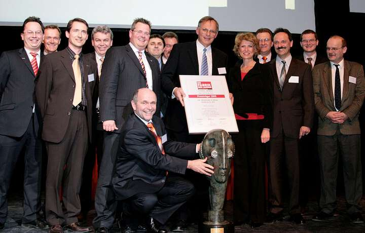2005 Landsberg is awarded Factory of the Year