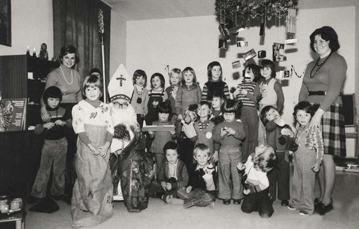 1973 Opening of the company kindergarten Kinderkette