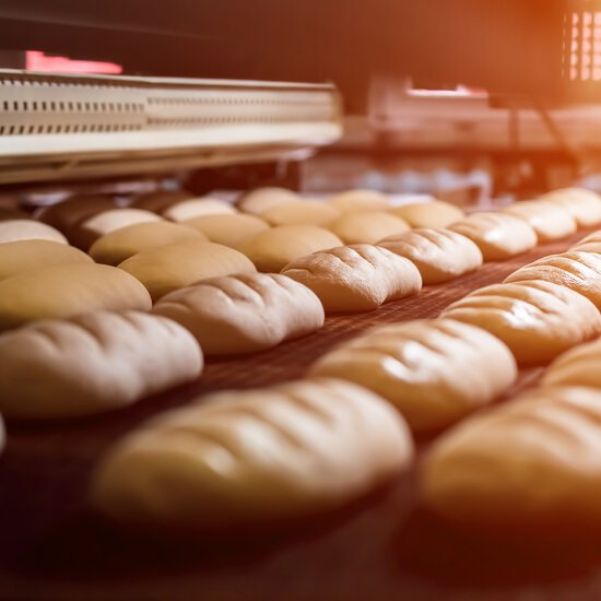 Conveyor Chains for the Bakery Industry
