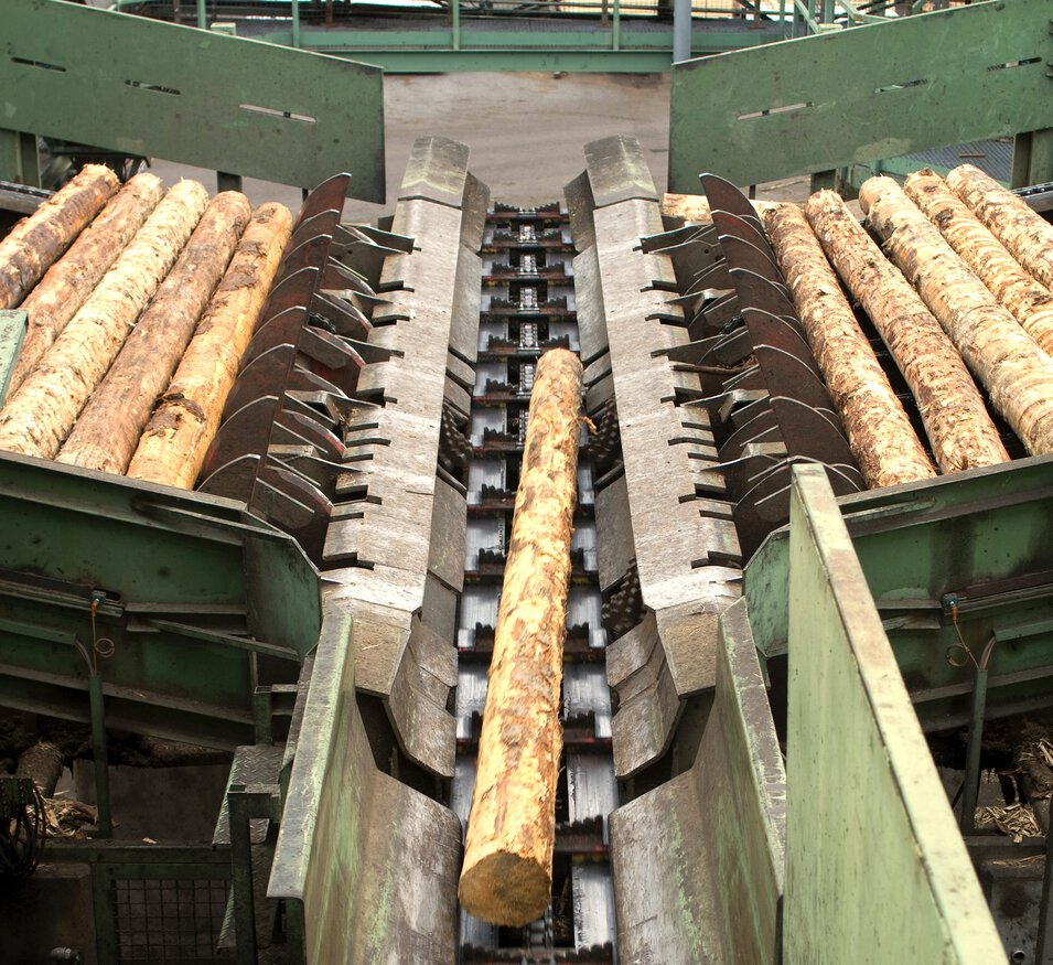 Chains for timber processing by iwis
