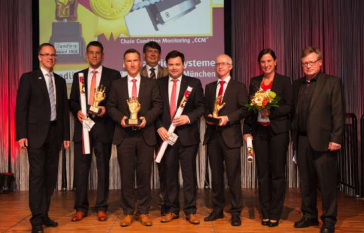 Chain Condition Monitoring system wins Handling Award