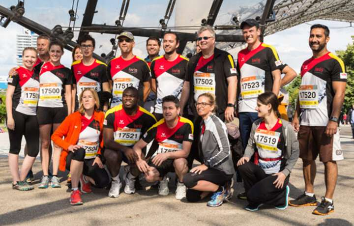 iwis at corporate run event B2RUN 2016