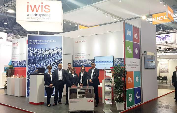 iwis as exhibitor at the Intec
