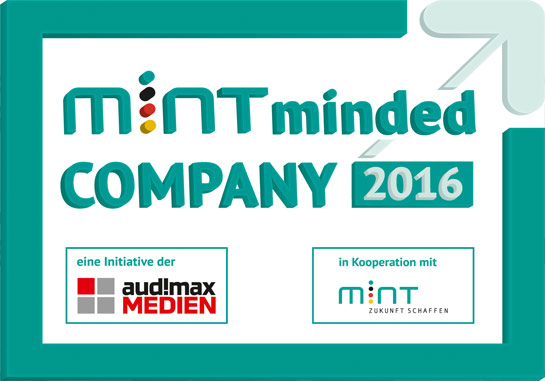"""iwis receives """"MINT Minded Company"""" award"""