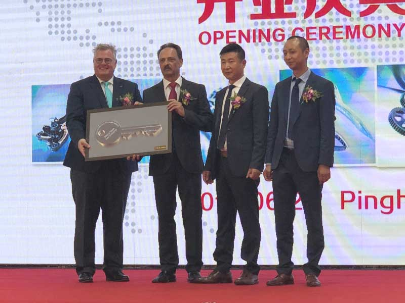 New Pinghu China plant opened iwis