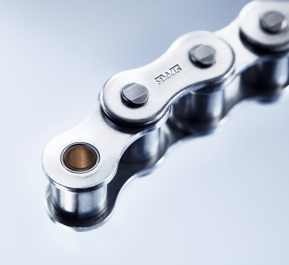 b dry maintenance-free stainless steel chains - absolutely dry