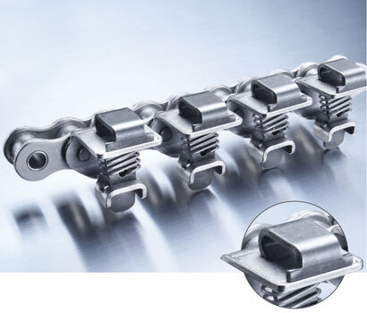 JWIS Grip Chain Version C with flat clamping surface