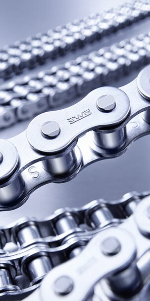 iwis roller chains for industrial applications